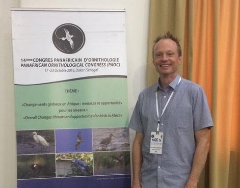 Dr. Rowan Martin, Keynote speaker at Pan-African Ornithological Congress